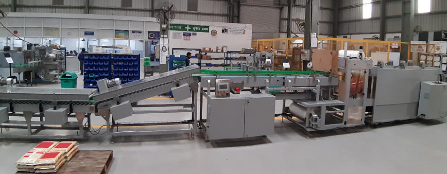 End of Line Packaging Machinery