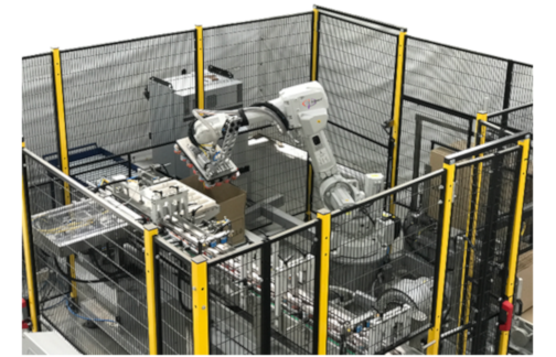 Robotic Case Erector Packer