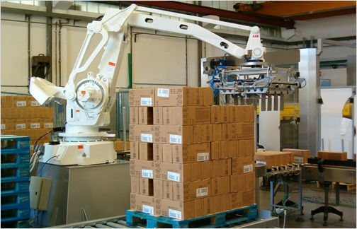 Industrial-Robot-Palletizer